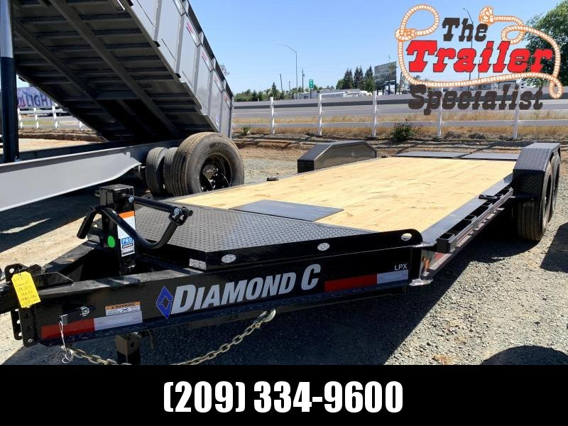 "NEW 2021 Diamond C Trailers LPX207-L 18' x 82"" 14900 GVWR Equipment Trailer"