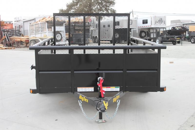 NEW 2021 Big Tex Trailers 35SV-10 6.5x10 2995lb GVWR Utility Trailer