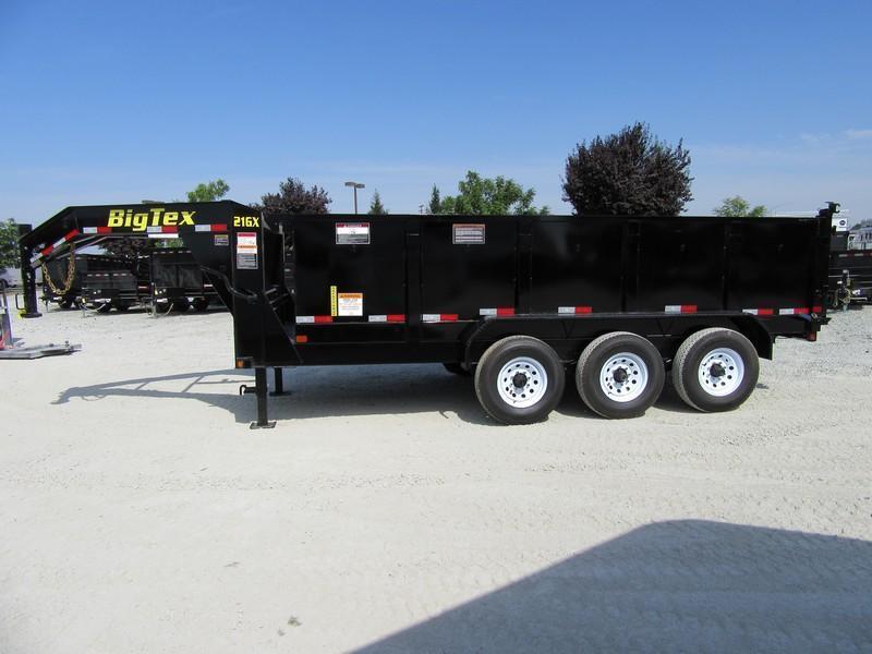 "New 2020 Big Tex 21GX-16P3 83""x16 21000 GVW Dump Trailer"