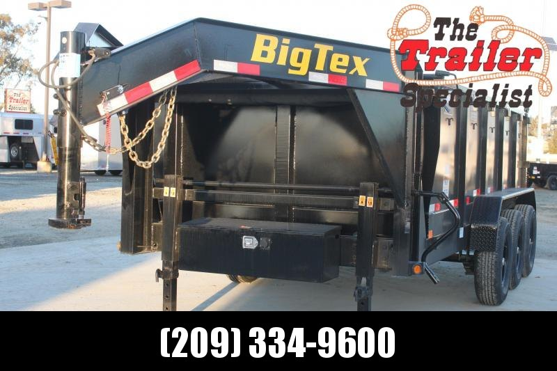 "New 2021 Big Tex 21GX-16P3 83""x16 21000 GVW Dump Trailer"