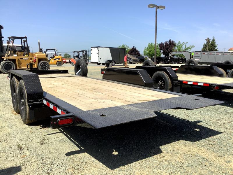 NEW 2021 Midsota TB-20 7' x 20' 15400 GVW Equipment Trailer