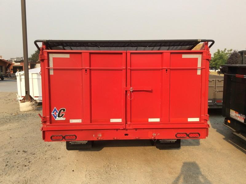 NEW 2021 Diamond C Trailers 8.5' x 20' WDT210 Dump Trailer