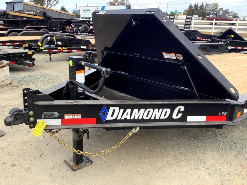 NEW 2022 Diamond C Trailers LPX207L 7' x 20' 14900 GVW Equipment Trailer