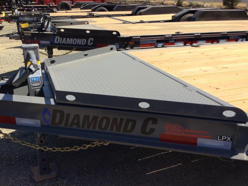 "NEW 2020 Diamond C Trailers LPX207 L 20ft x 82"" Low Pro Extreme Duty Equipment Trailer"