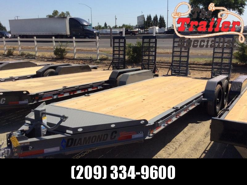 "NEW 2020 Diamond C Trailers LPX207 L 20ft x 82"" Low Pro Extreme Duty Equipment Trailer"