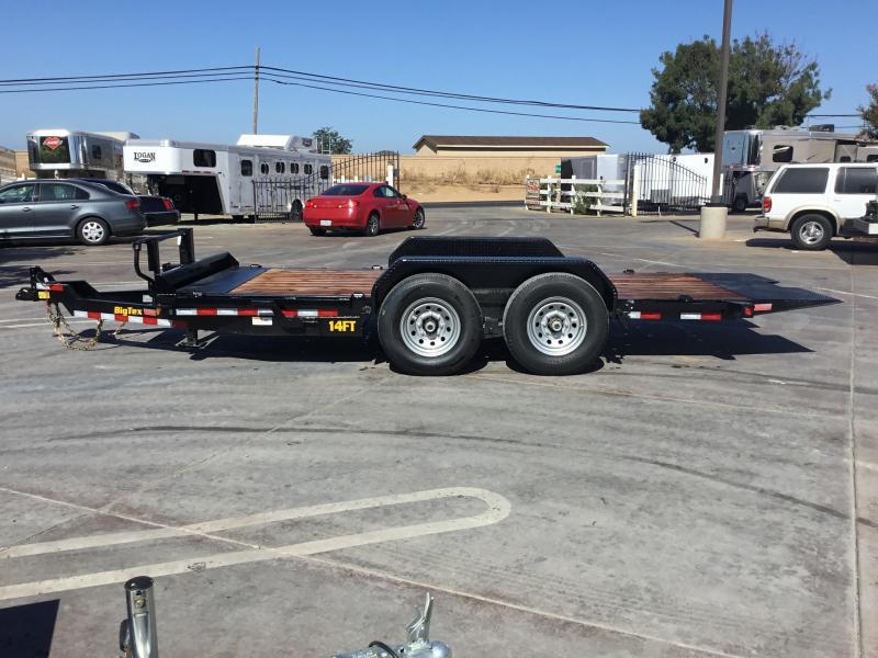 NEW 2021 Big Tex Trailers 14FT-16 7' x 16' 14000 GVW Equipment Trailer
