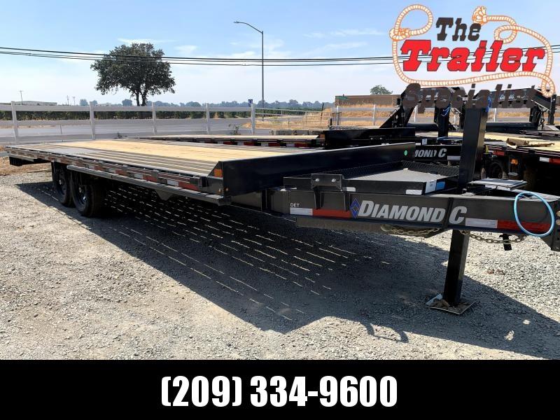 "NEW 2021 Diamond C Trailers DET207L 102"" x 24' 14900 GVWEquipment Trailer"