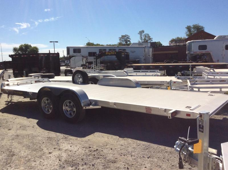 NEW 2021 Aluma 8220H-TILT-TA Equipment Trailer