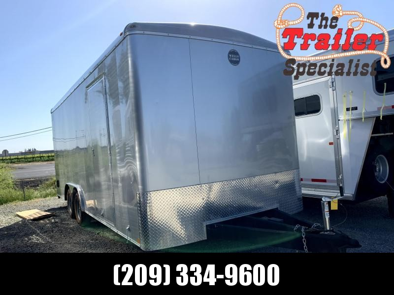 PRE-OWNED 2019 Wells Cargo Road Force 8.4 x 20 Enclosed Cargo Trailer