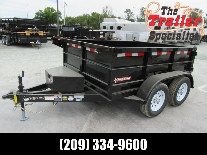 New 2021 Five Star DT263 Dump Trailer 6X8 7K