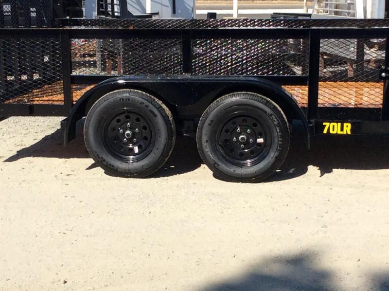 NEW 2021 Big Tex Trailers 70LR-14 Utility Trailer
