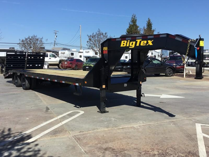 New 2021 Big Tex 25GN-25+5MR Equipment Trailer 8.5'x30'