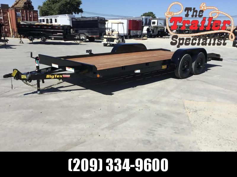 New 2020 Big Tex 70CH-18DTBRK2 7x18 7K GVW  Car/Racing Trailer