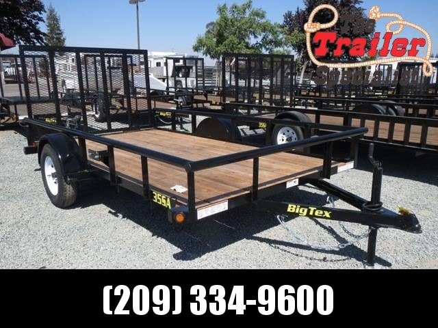 NEW 2021 Big Tex 35SA-12 6.5x12 2995 lbs GVWR Utility Trailer