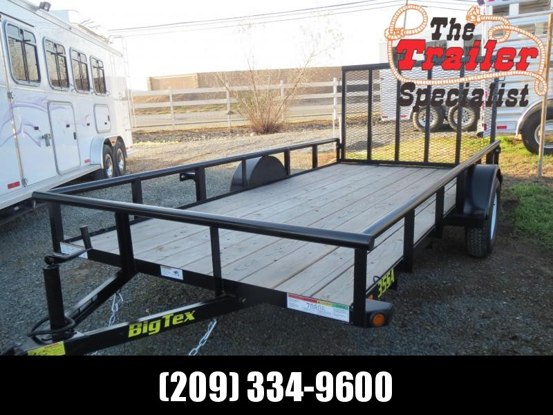 New 2021 Big Tex Trailers 35SA-14 Utility Trailer 6.5'x14' 2999k GVW