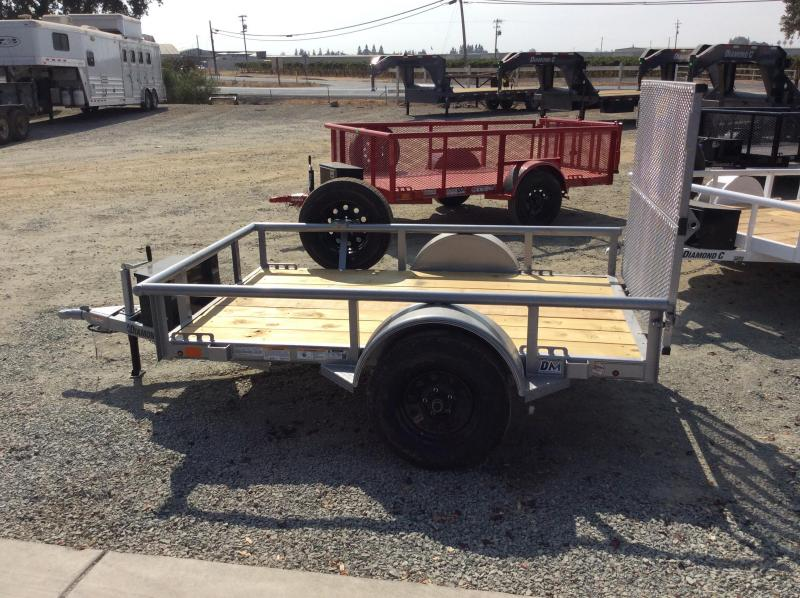 NEW 2021 Diamond C Trailers 5x8 3k GVWR PSA Utility Trailer