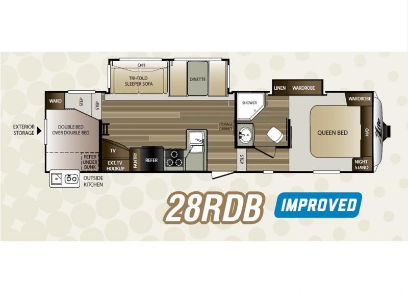 2016 Keystone RV COUGAR XLITE 28RDB