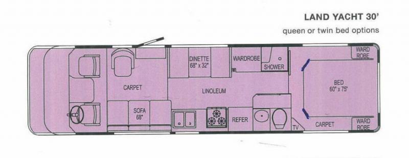 2004 Airstream LAND YACHT 30