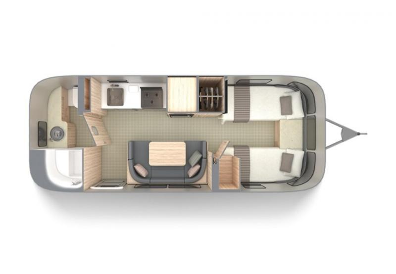 2021 Airstream GLOBETROTTER 23FB TWIN