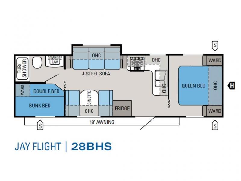 2011 Jayco JAY FLIGHT 28BHS
