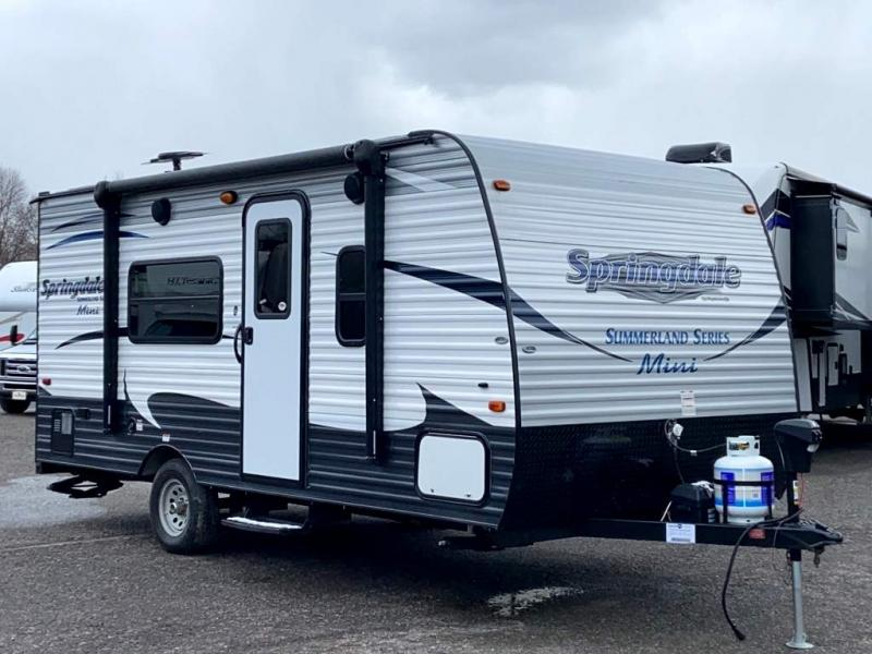 2017 Keystone RV SPRINGDALE MINI 1700FQ