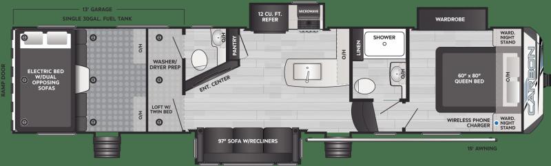 2022 Keystone RV CARBON 358