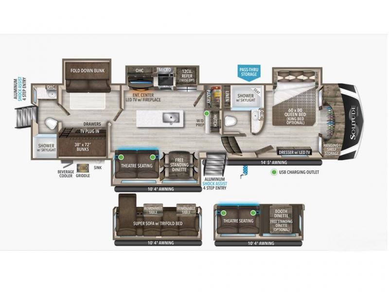 2022 Grand Design RV SOLITUDE S-CLASS 3950BH