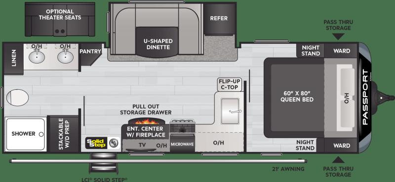 2022 Keystone RV PASSPORT GT SERIES 2400RB