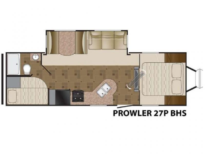 2012 Heartland RV PROWLER 27P BHS