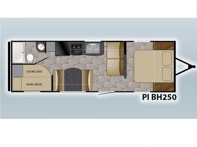 2018 Heartland RV PIONEER BH250