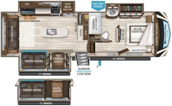 2020 Grand Design RV SOLITUDE S-CLASS 2930RL