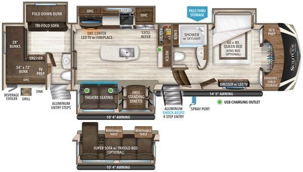 2020 Grand Design RV SOLITUDE S-CLASS 3740BH