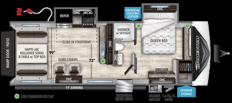 2022 Grand Design RV MOMENTUM G-CLASS 25G