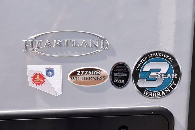2019 Heartland WILDERNESS 2775RB