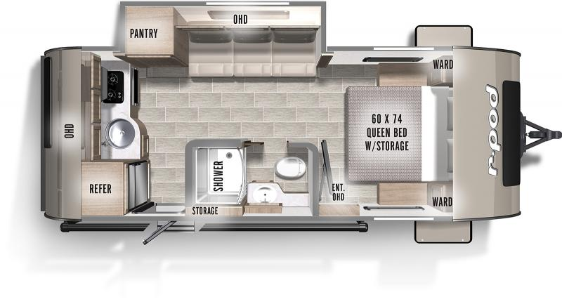 2020 Forest River, Inc. R POD 196