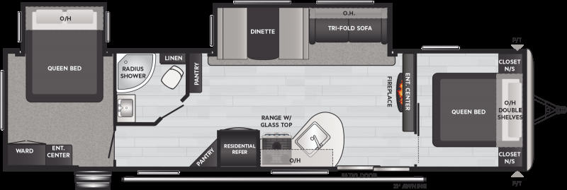 2021 Keystone RV SPRINGDALE 38FQ