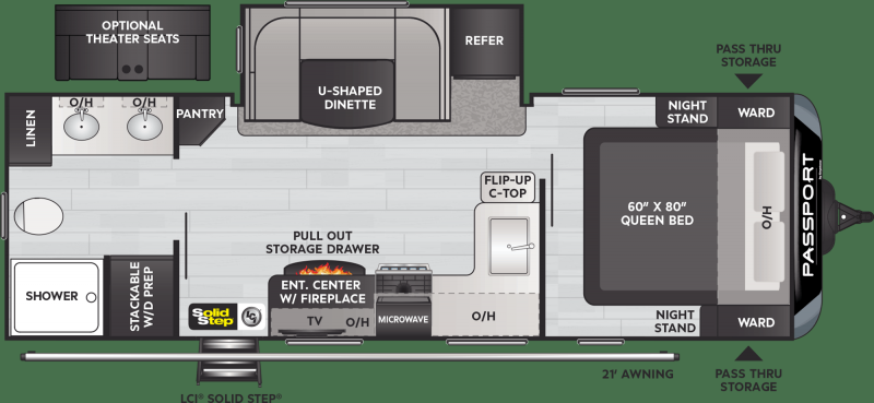2021 Keystone RV PASSPORT GT SERIES 2400RB