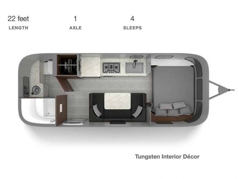 2021 Airstream CARAVEL 22FB