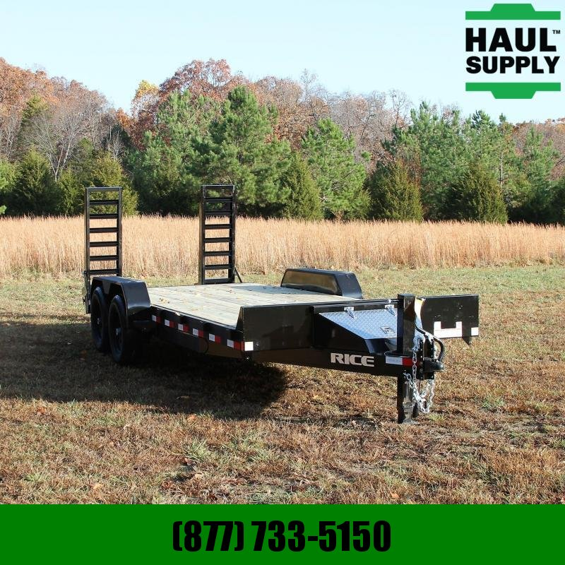 Rice 82X20 14K EQUIPMENT TRAILER 2FT STEEL DOV