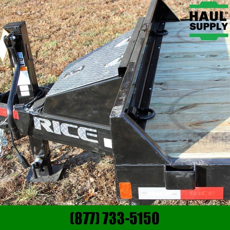 Rice 82X20 14K EQUIPMENT TRAILER 2FT STEEL DOV