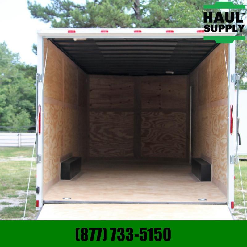 Cynergy Cargo 8.5X24 7K V-NOSE XXT CAR HAULER REAR RAMP