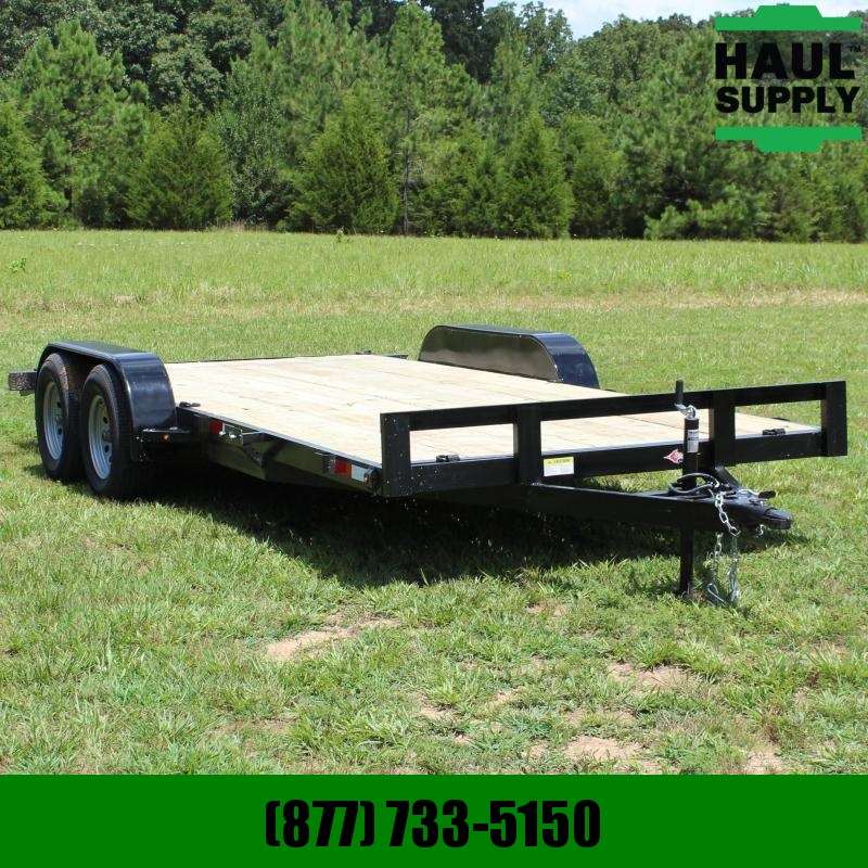 Stingray LLC 82X18 7K OPEN CAR HAULER DOVETAIL RAMPS