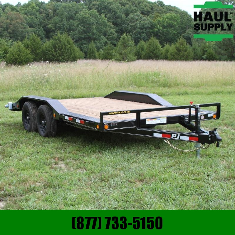 PJ Trailers 102X16 10K Buggy Hauler Equipment Trailer