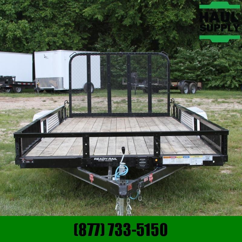PJ Trailers 83X18 7K UTILITY TRAILER SIDE MOUNT ATV R