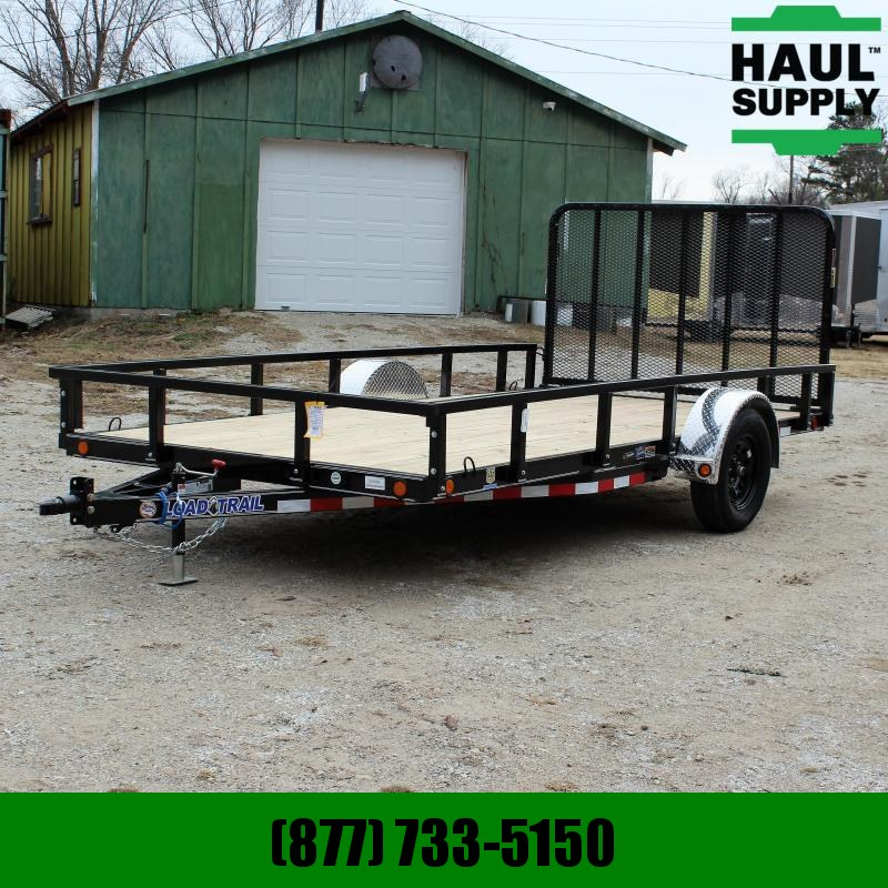 Load Trail 83X14 UTILITY TRAILER DIAMOND PLATE FENDE