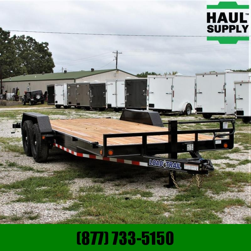 Load Trail 83X20 14K Open Car Hauler Treated Wood Fl