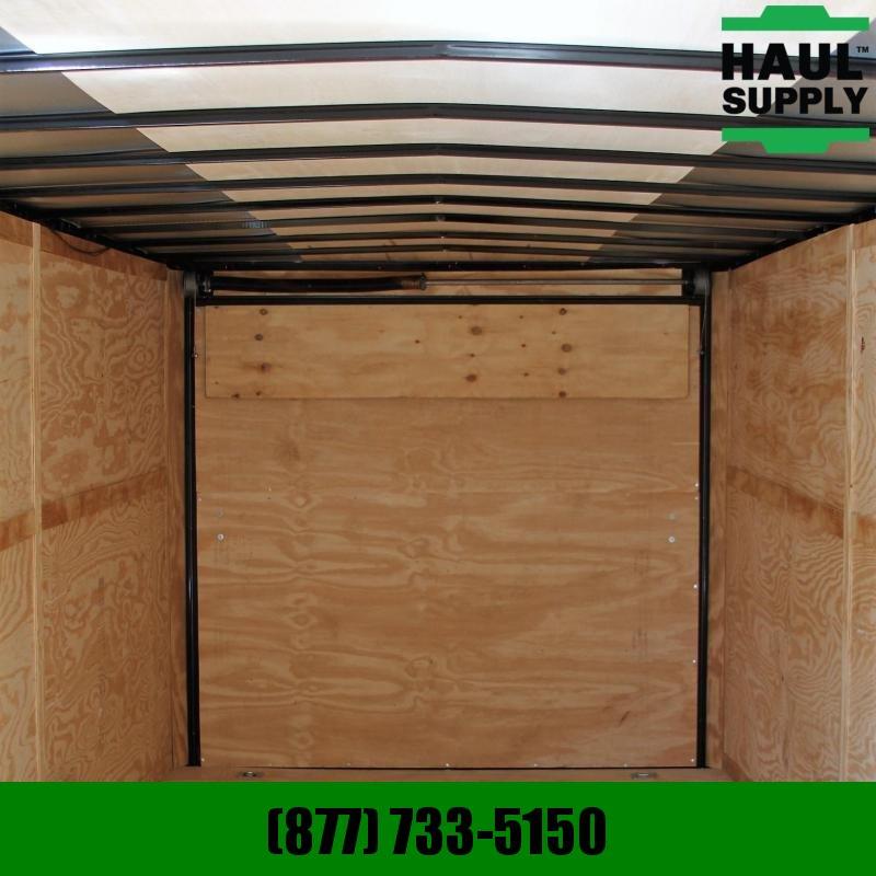 Traveler Cargo 8.5x24 10K V-nose Enclosed Carhauler w/ R