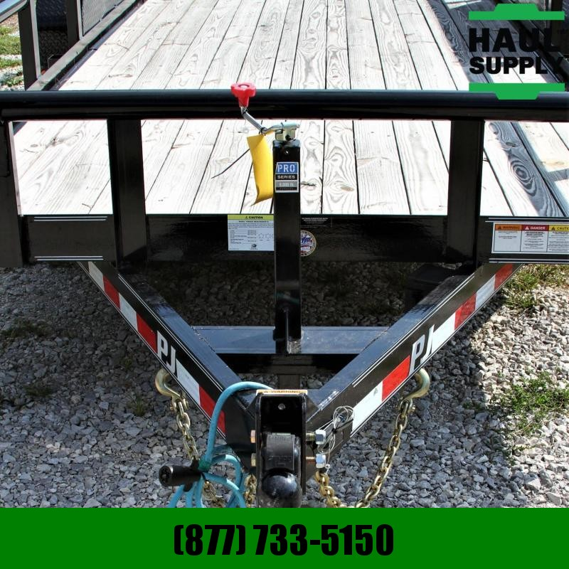 PJ Trailers 83X20 14K Pipetop Equipment Trailer 5ft S