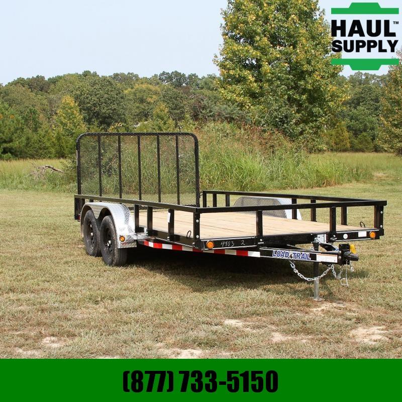 Load Trail 83X16 7K UTILITY TRAILER 4IN CHANNEL FRAM