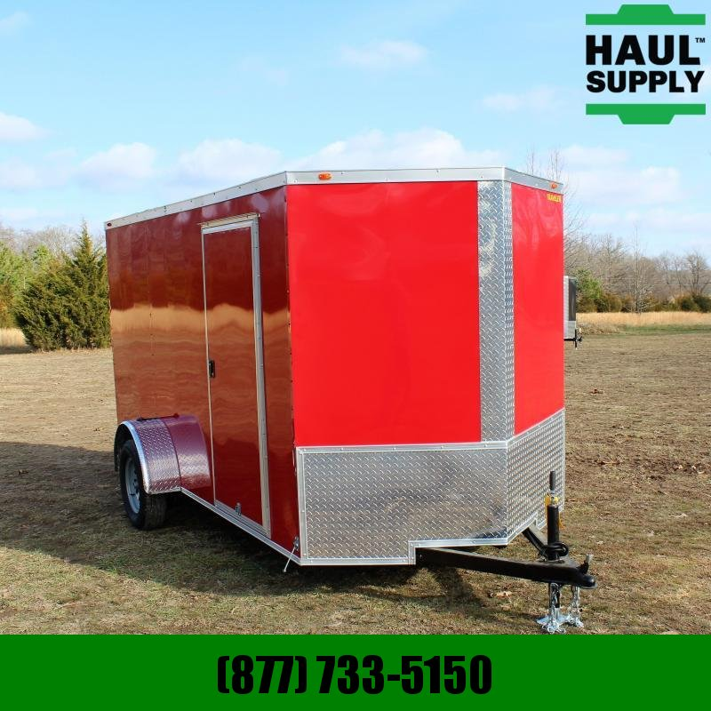 Traveler Cargo 6X12 V-NOSE CARGO TRAILER ROOF VENT REAR